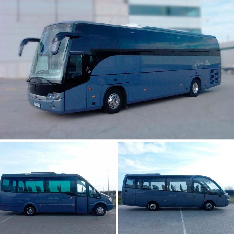 Rent a bus in Barcelona - Solerbus